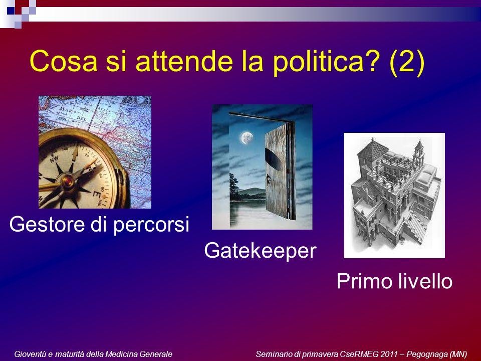 Gioventù e maturità della Medicina Generale: generazioni a confronto Seminario di primavera 2011 Noi siamo pronti.