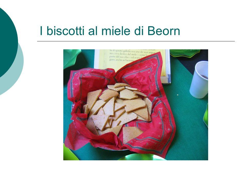 I biscotti al miele di Beorn