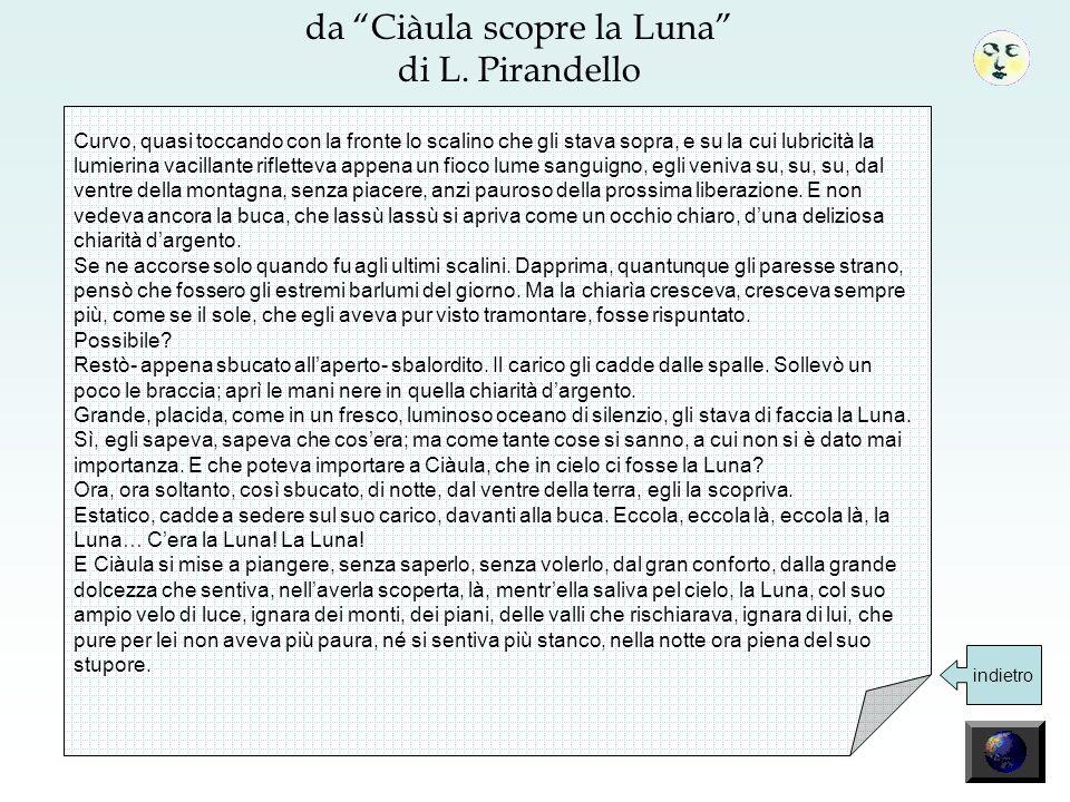 da Ciàula scopre la Luna di L.