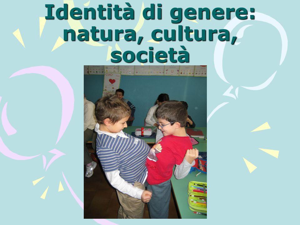 Identità di genere: natura, cultura, società