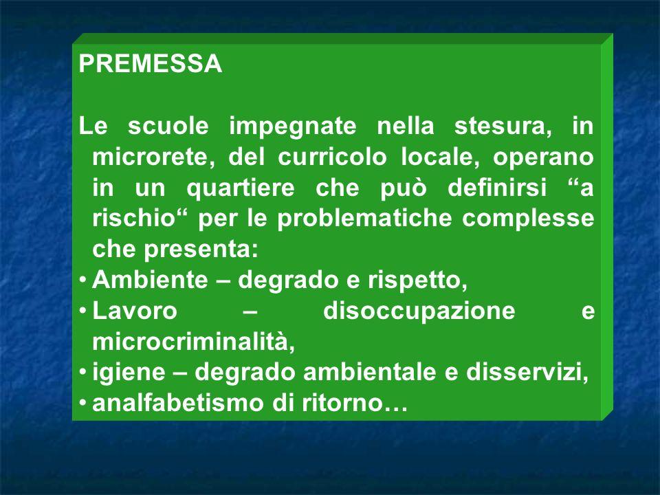 - Osservazione - Analisi - Lavori di gruppo - Problem solving - Ricerca - azione - Cooperative - learning