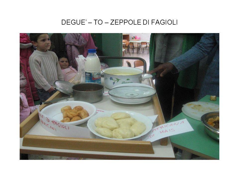 DEGUE – TO – ZEPPOLE DI FAGIOLI