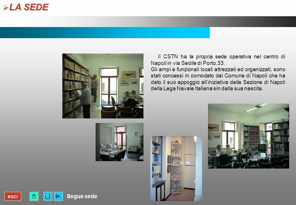 esci LA SEDE LA SEDE Segue sede Il CSTN ha la propria sede operativa nel centro di Napoli in via Sedile di Porto,33. Gli ampi e funzionali locali attr