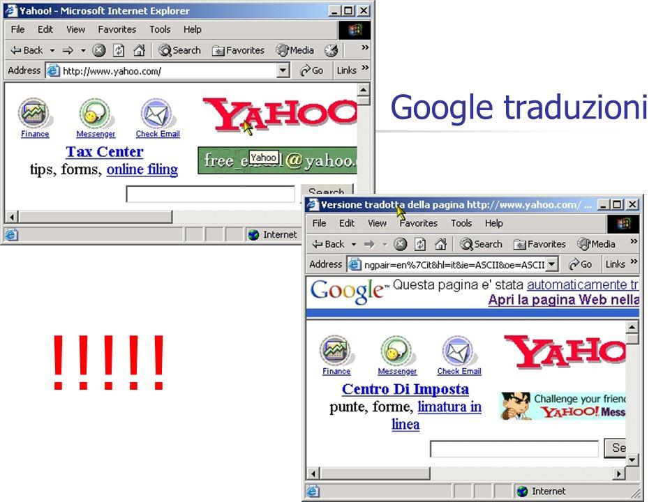 35 Google traduzioni !!!!!