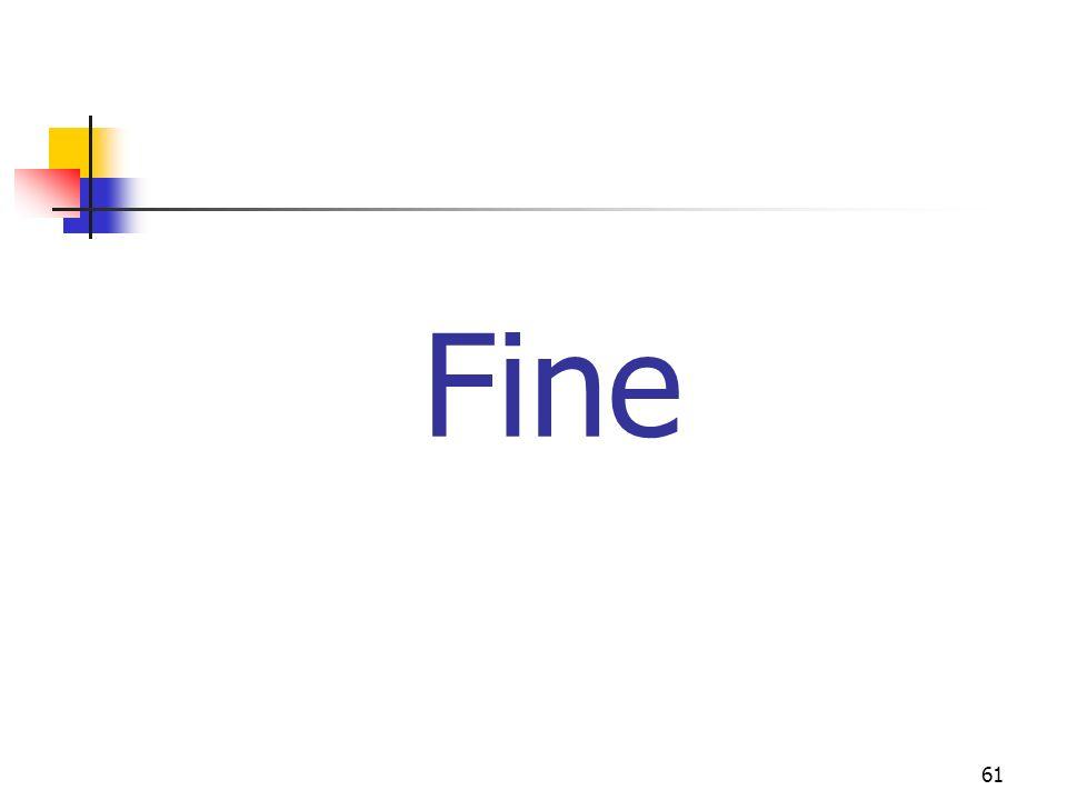 61 Fine
