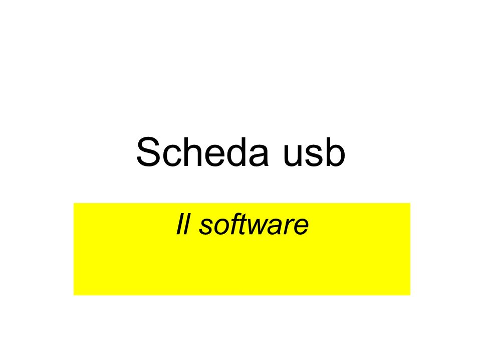 Esercizio 2 Modificare il programma in modo che: –il pulsante 1 attivi luscita 1; –il pulsante 2 disattivi luscita 1; –il pulsante 3 attivi luscita 2; –il pulsante 4 disattivi luscita 2; –il pulsante 5 disattivi tutte le uscite;