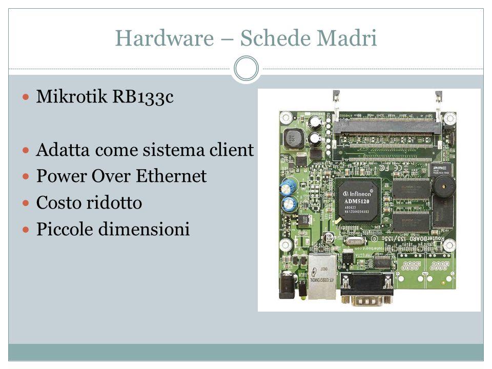 Hardware – Schede Madri Mikrotik RB133c Adatta come sistema client Power Over Ethernet Costo ridotto Piccole dimensioni