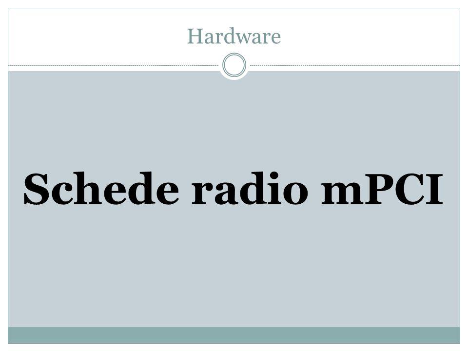 Hardware Schede radio mPCI