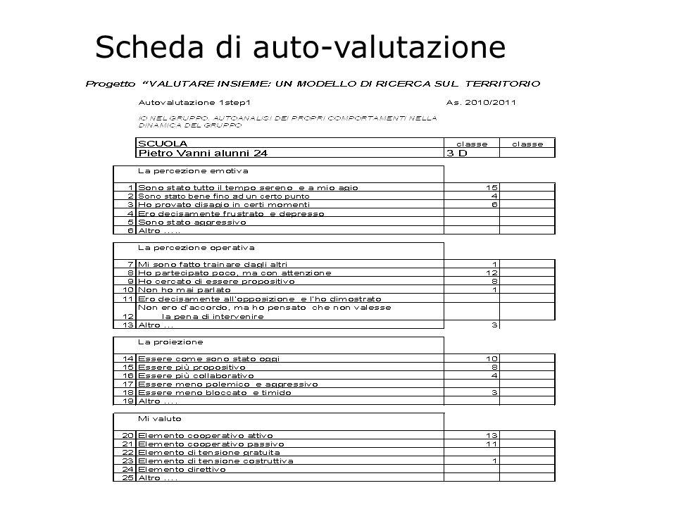 Seconda fase: realizzazione grafici I dati raccolti sono stati analizzati.