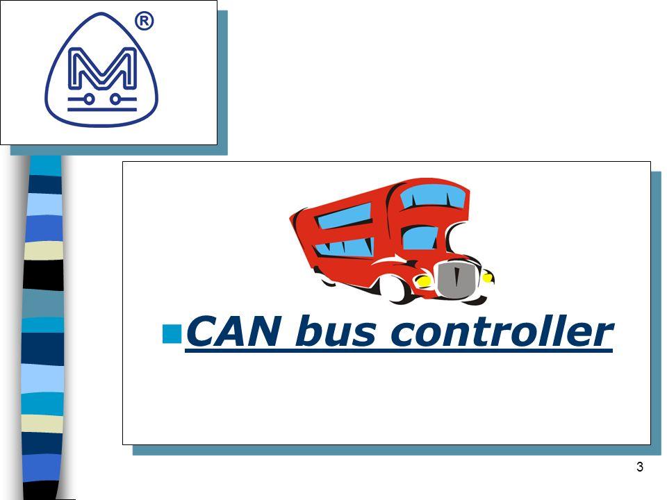 3 Logo della società CAN bus controller