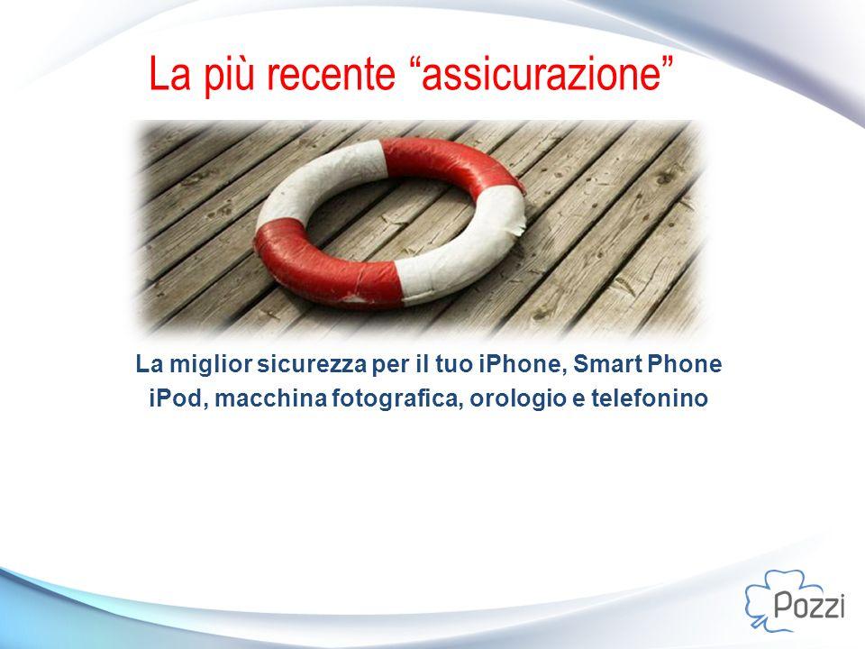 La più recente assicurazione La miglior sicurezza per il tuo iPhone, Smart Phone iPod, macchina fotografica, orologio e telefonino