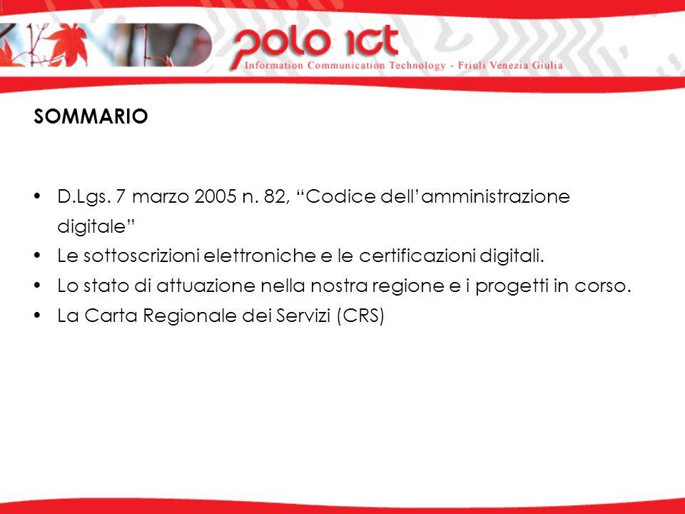 D.Lgs. 7 marzo 2005 n.