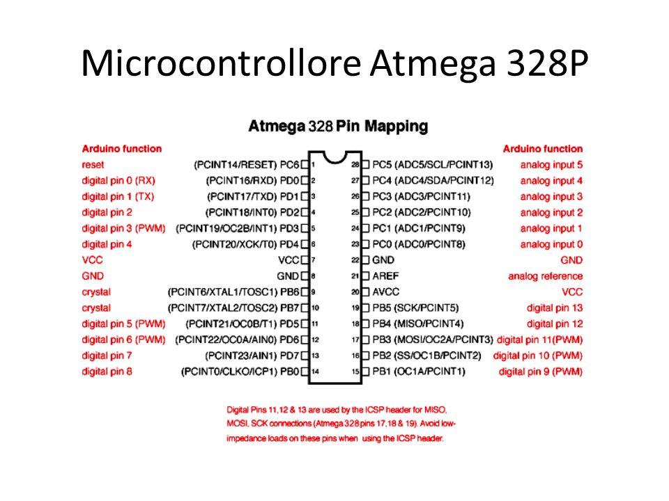 Microcontrollore Atmega 328P