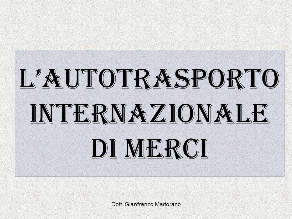 Dott. Gianfranco Martorano 0000