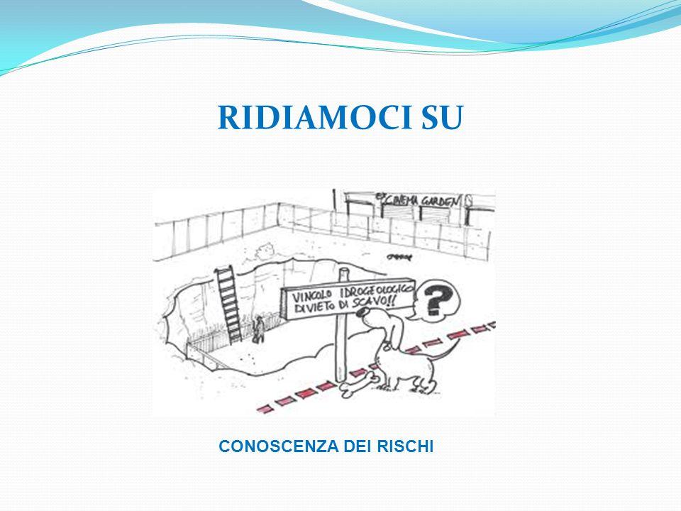 RIDIAMOCI SU CONOSCENZA DEI RISCHI