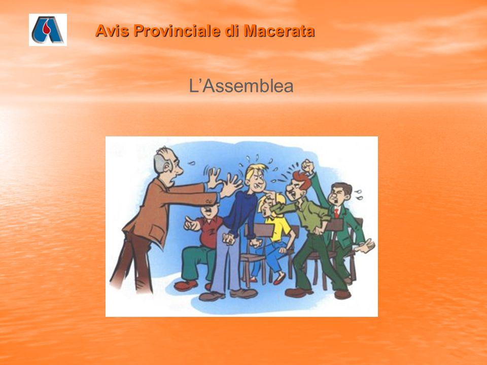 Avis Provinciale di Macerata LAssemblea
