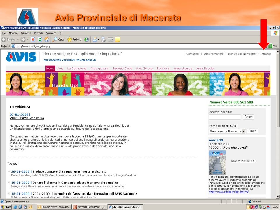 Avis Provinciale di Macerata