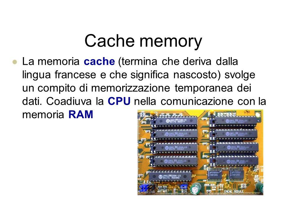 Memoria ROM La ROM (Read Only memory) è una memoria di sola lettura.