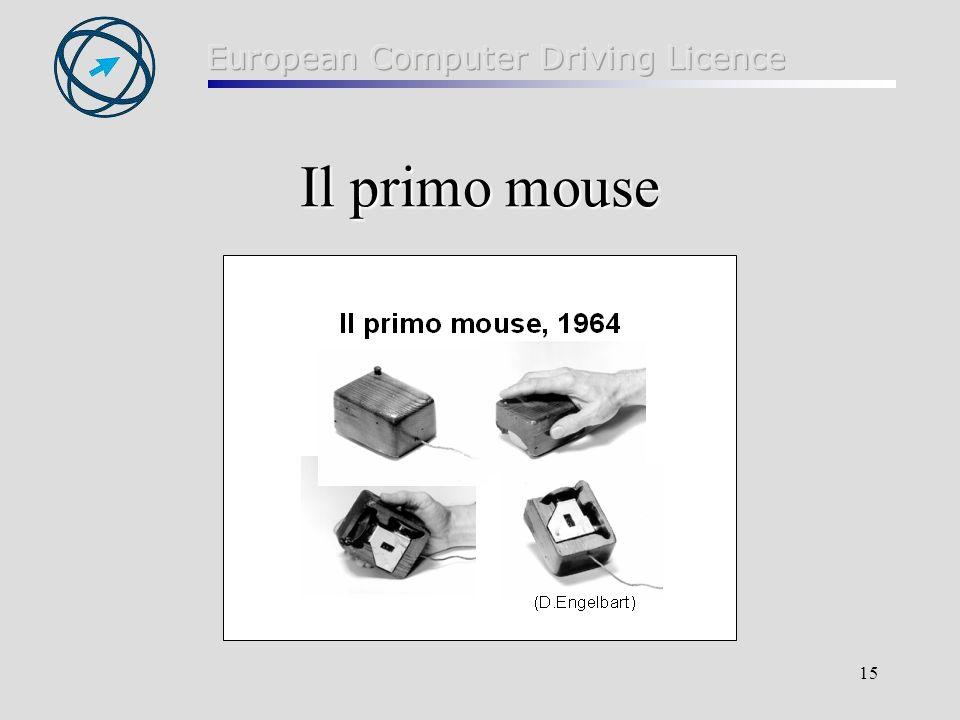 15 Il primo mouse