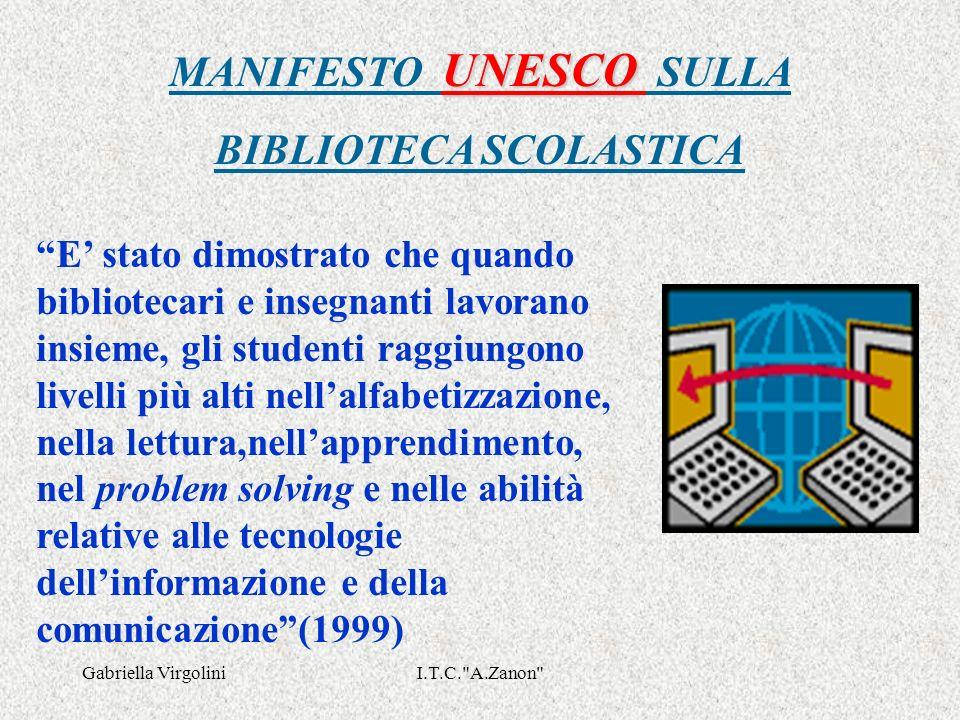 Gabriella VirgoliniI.T.C. A.Zanon BIBLIOGRAFIA F.L.