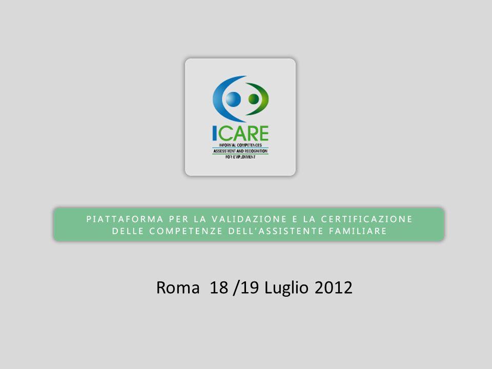 Roma 18 /19 Luglio 2012