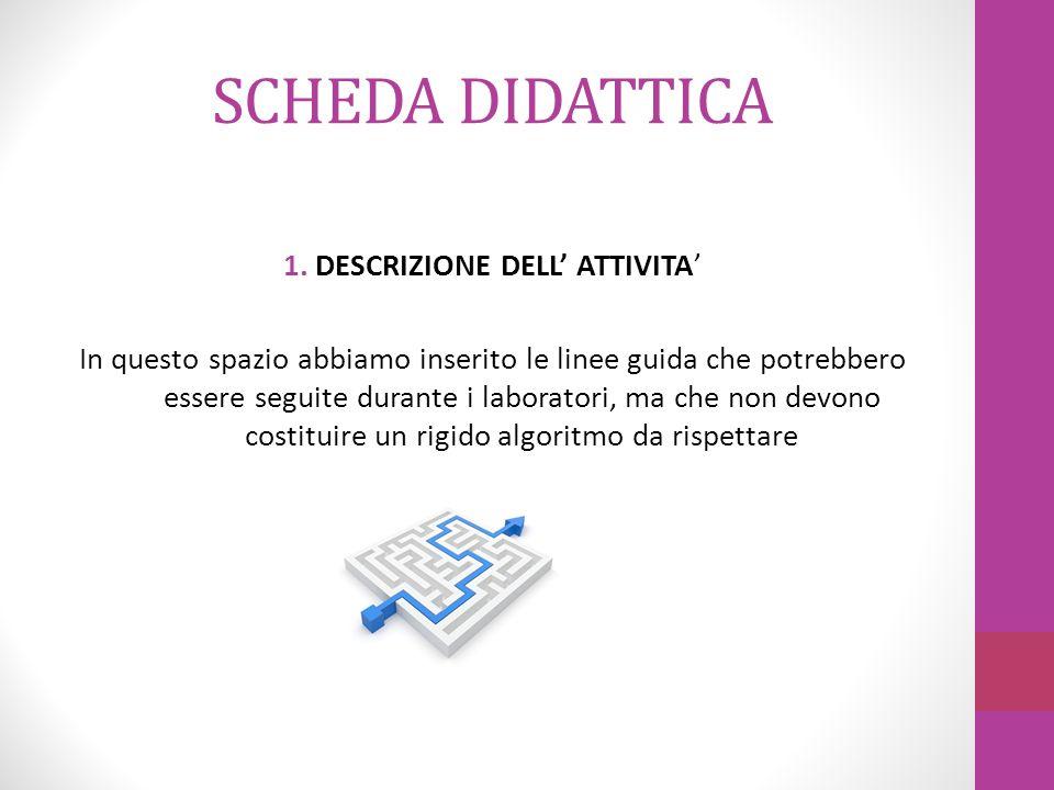 SCHEDA DIDATTICA 2.