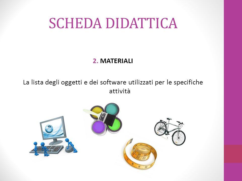 SCHEDA DIDATTICA 3.