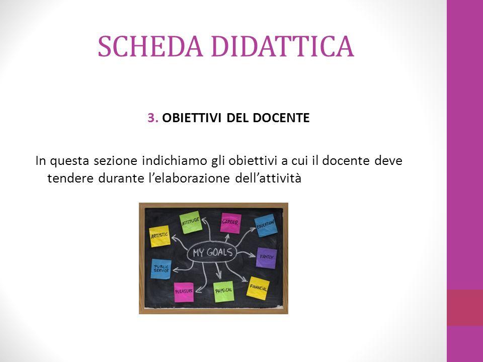 SCHEDA DIDATTICA 4.