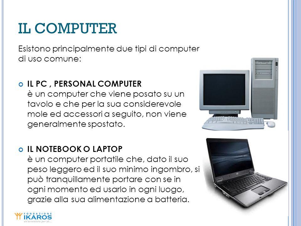 LE UNITÀ DISCO | 1 Il DISCO FISSO o HARD-DISK, la PENDRIVE e il CD-ROM sono alcune delle unità disco, nelle quali potrai memorizzare i tuoi lavori che creerai con il computer.