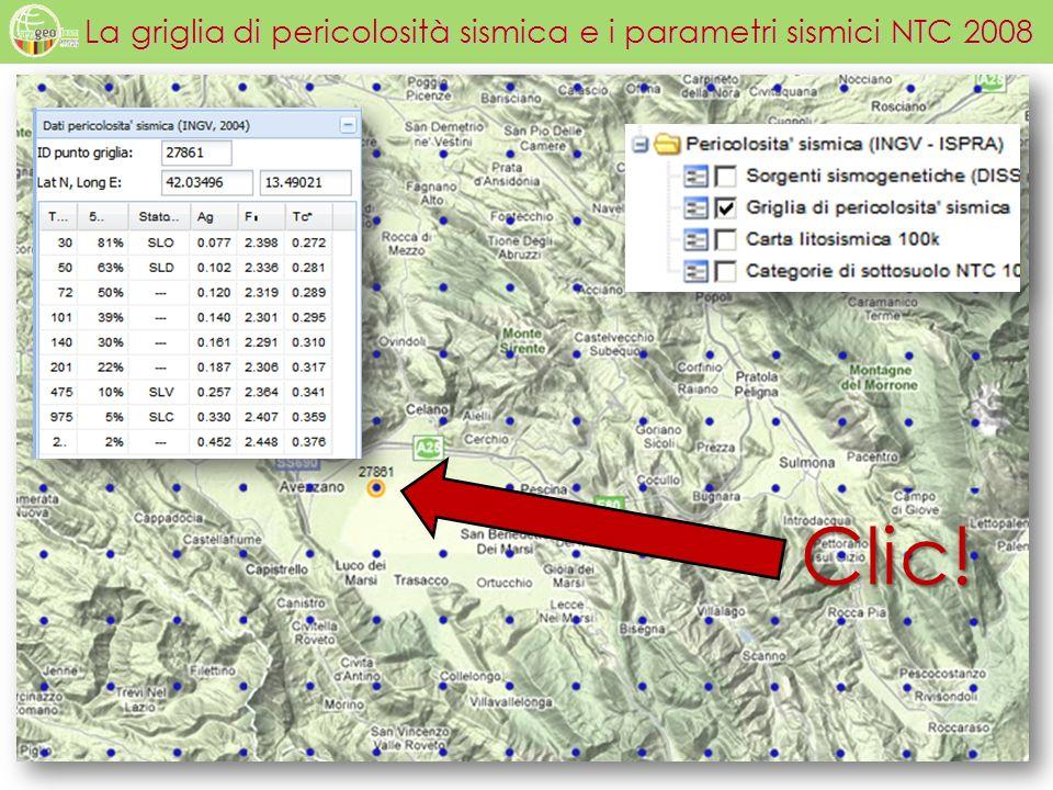 La griglia di pericolosità sismica e i parametri sismici NTC 2008 Clic!