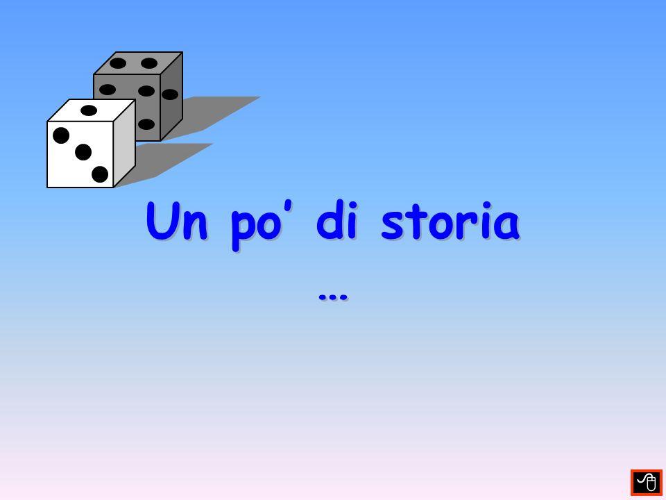 TERMINOLOGIA EVENTO (E) Ogni possibile risultato dellesperimento Esperimento: lancio di una moneta Evento (Risultati possibili) : Testa, Croce Esperimento: lancio di un dado Evento (Risultati possibili) : 1, 2, 3, 4, 5, 6, # pari, # dispari, 3 o 5, 1 o 2 o 6, …, # < 2, # <4, …, # > 1, # >3, …,