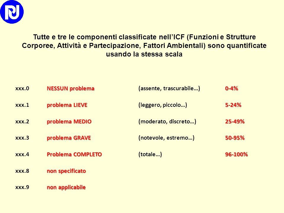 Domini Qualificatori PerformanceCapacità d1 Apprendimento e applicazione delle conoscenze d2 Compiti e richieste generali d3Comunicazione d4Mobilità d