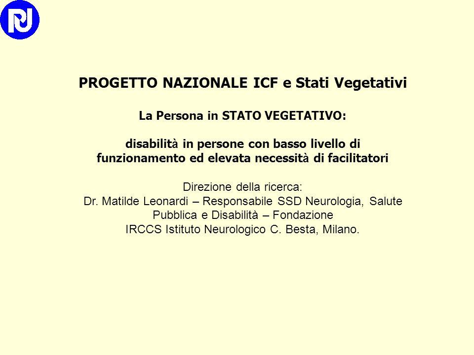 Developing ICF Core Set for subjects with Traumatic Brain Injury: an Italian clinical perspective Aiachini B, Pisoni C, Cieza A, Cazzulani B, Giustini