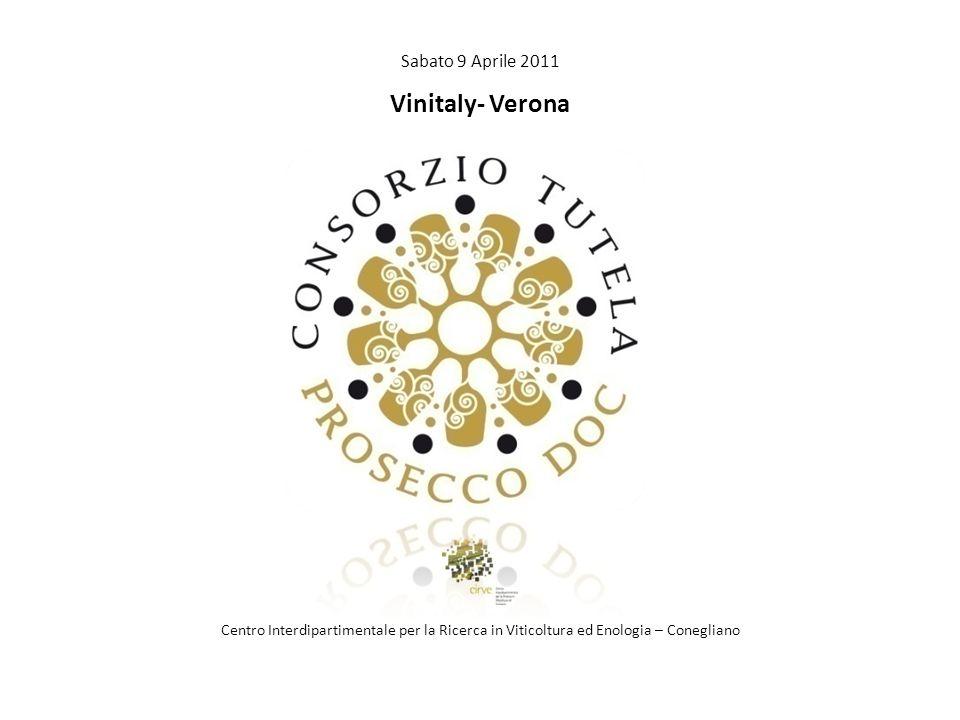 Sabato 9 Aprile 2011 Vinitaly- Verona Centro Interdipartimentale per la Ricerca in Viticoltura ed Enologia – Conegliano