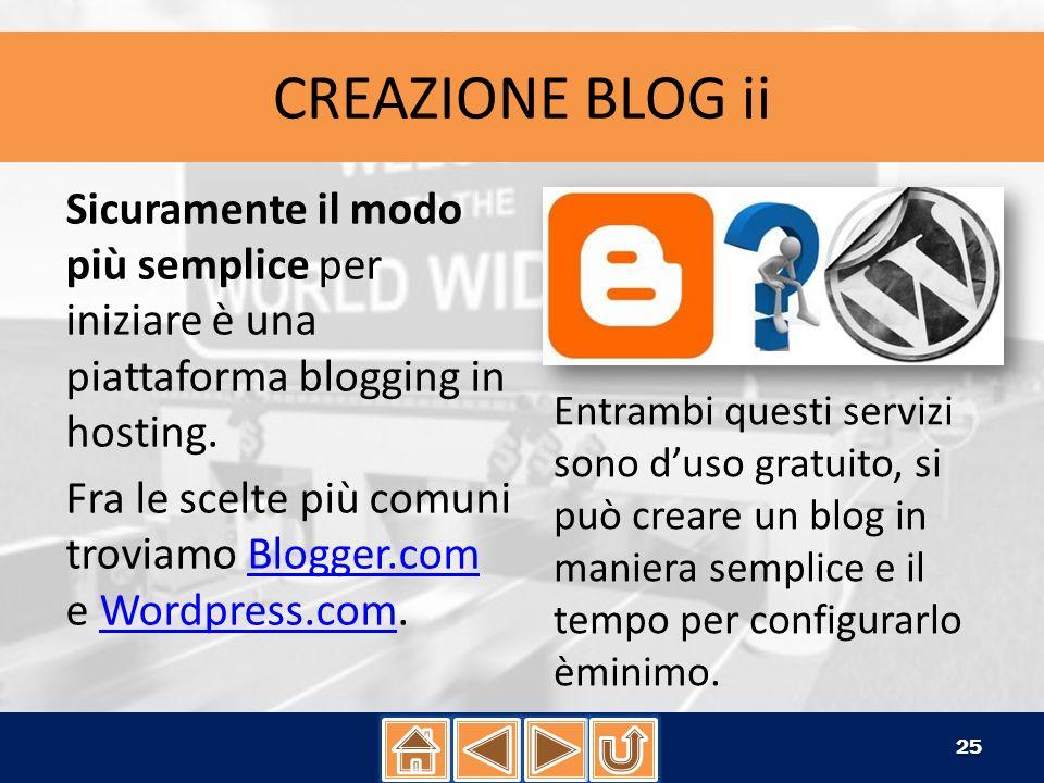 CREAZIONE BLOG ROLL Dopo aver creato un link, dalla sezione Link del pannello di amministrazione, vediamo come visualizzarli sul blog/sito.