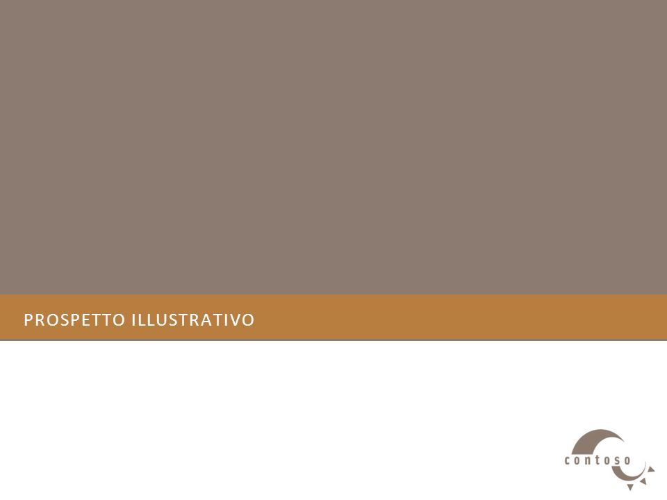 PROSPETTO ILLUSTRATIVO
