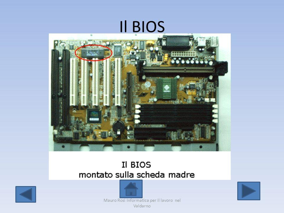 Il BIOS Mauro Rosi Informatica per il lavoro nel Valdarno