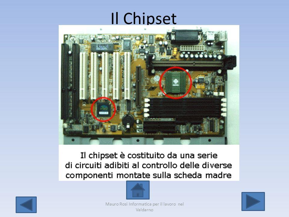 Il Chipset Mauro Rosi Informatica per il lavoro nel Valdarno