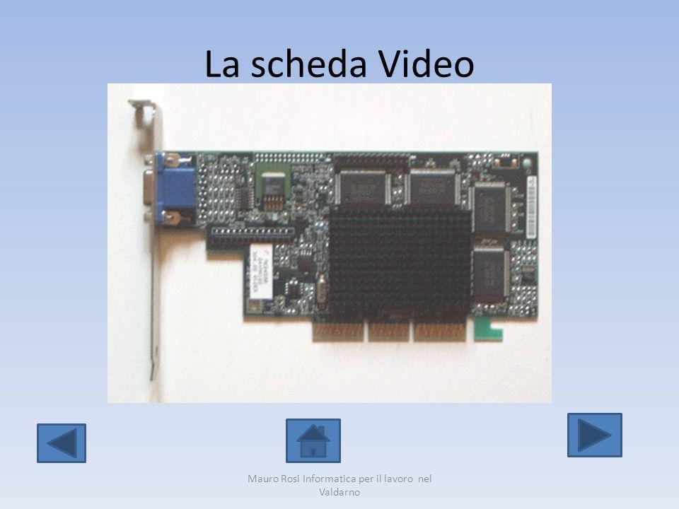 La scheda Video Mauro Rosi Informatica per il lavoro nel Valdarno