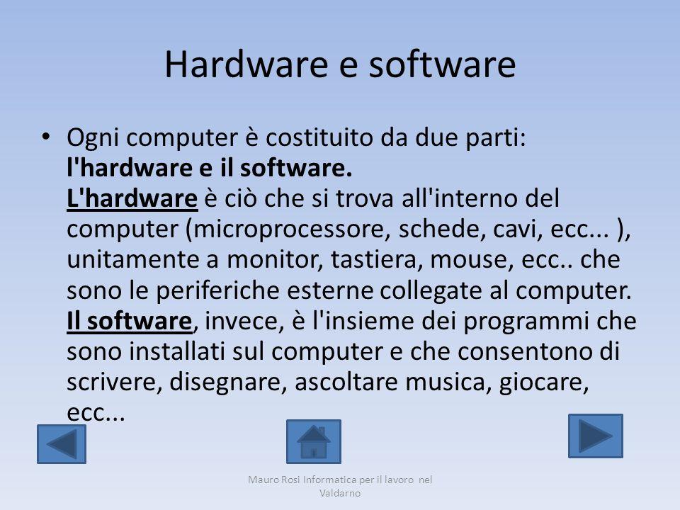 Slot per la RAM Mauro Rosi Informatica per il lavoro nel Valdarno