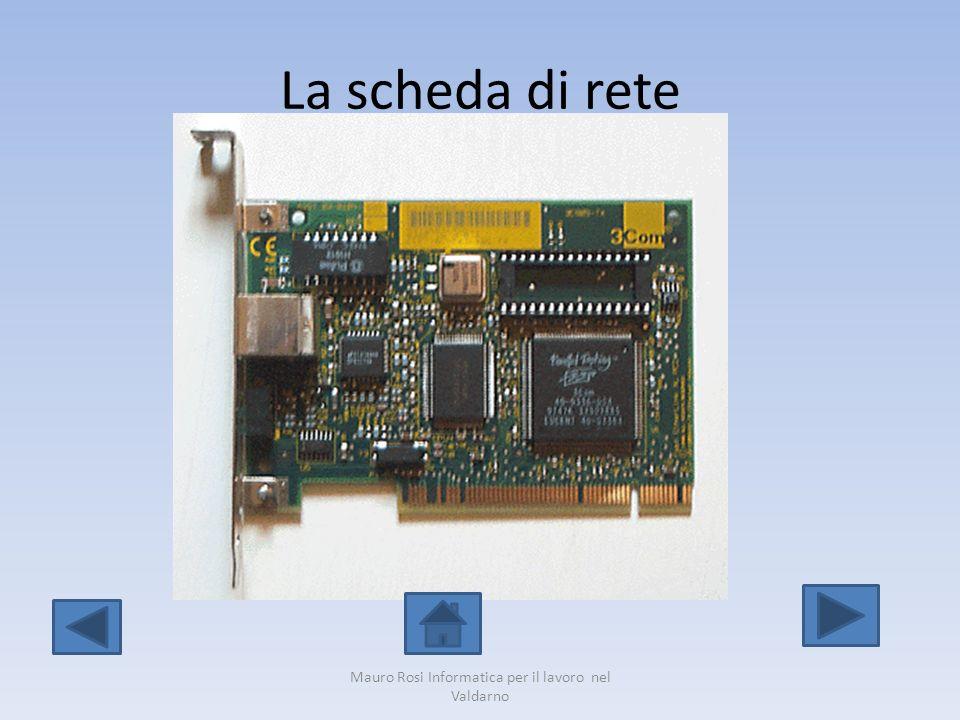 La scheda di rete Mauro Rosi Informatica per il lavoro nel Valdarno