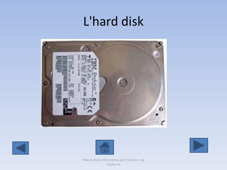 L'hard disk Mauro Rosi Informatica per il lavoro nel Valdarno