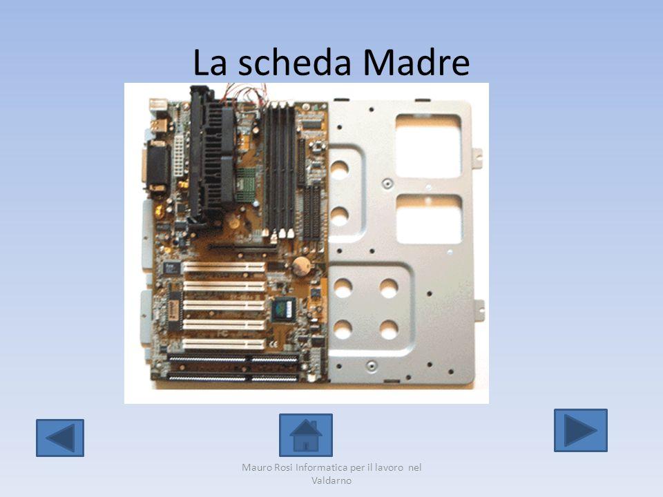 Gli slot per l inserimento delle schede Mauro Rosi Informatica per il lavoro nel Valdarno