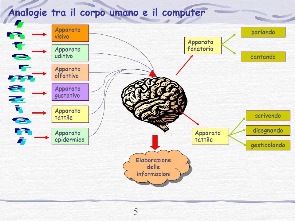 4 Computer Il computer è una macchina progettata per Raccogliere Organizzare Conservare distribuire informazioni e risolvere problemi attraverso lutilizzo di programmi.