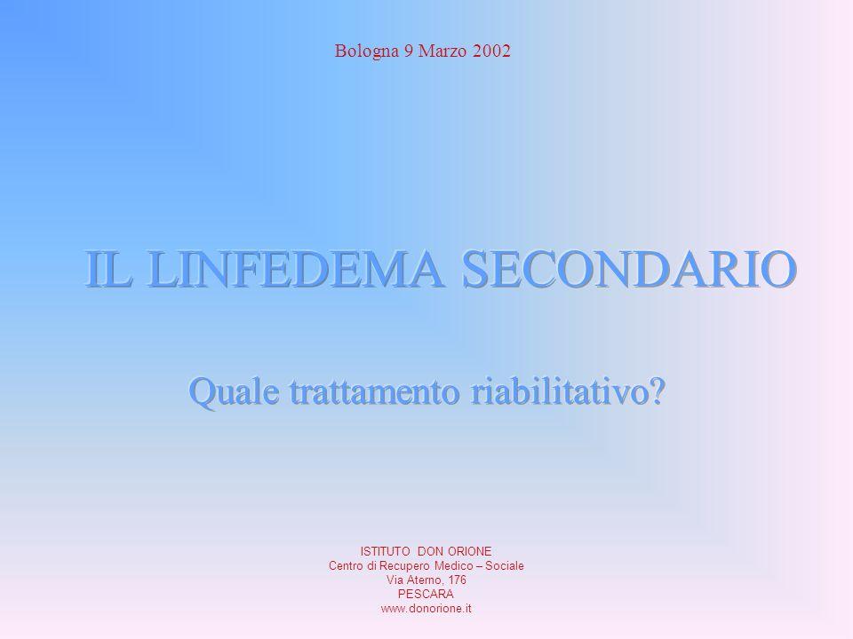 Bologna 9 Marzo 2002 ISTITUTO DON ORIONE Centro di Recupero Medico – Sociale Via Aterno, 176 PESCARA www.donorione.it