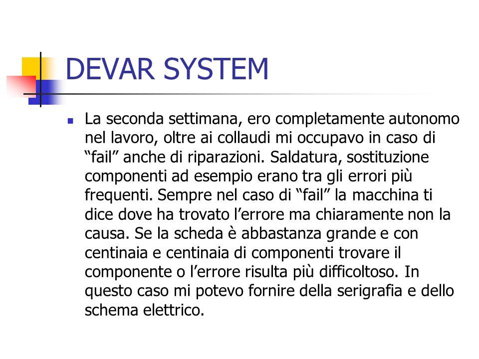 DEVAR SYSTEM