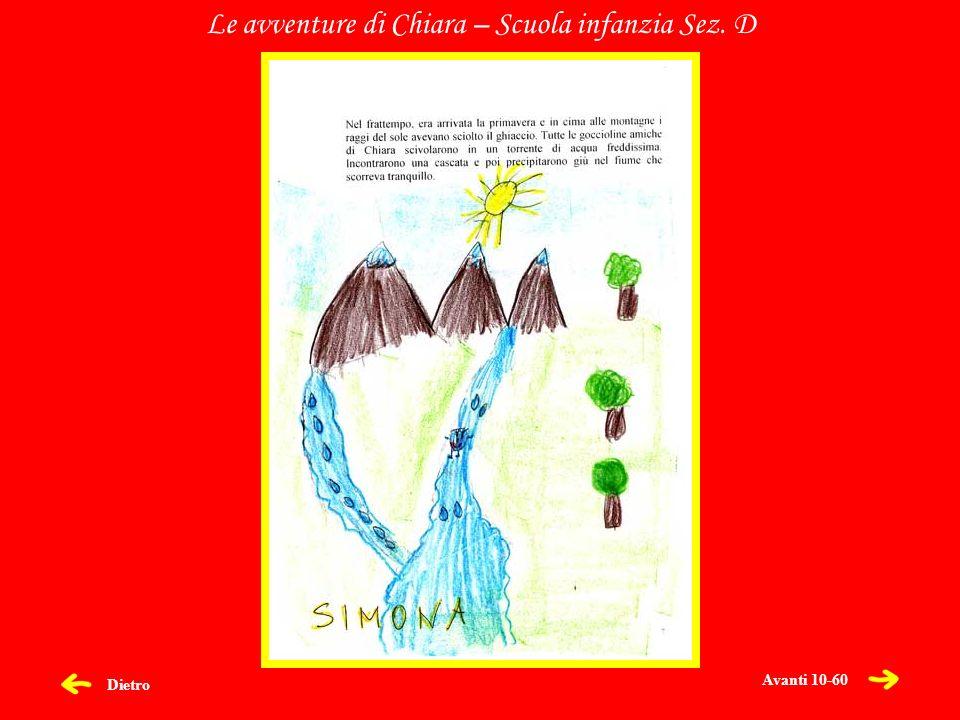 Dietro Le avventure di Chiara – Scuola infanzia Sez. D Avanti 10-60