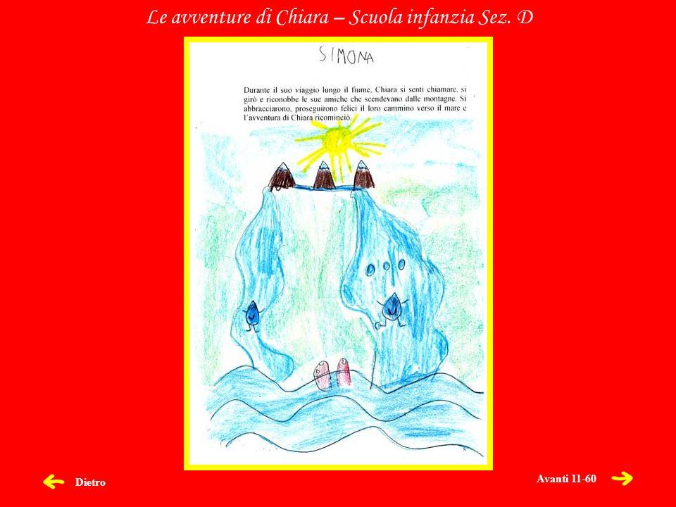 Dietro Le avventure di Chiara – Scuola infanzia Sez. D Avanti 11-60