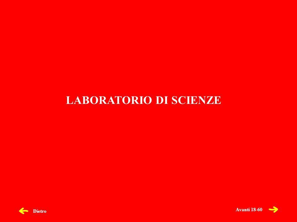 Dietro LABORATORIO DI SCIENZE Avanti 18-60