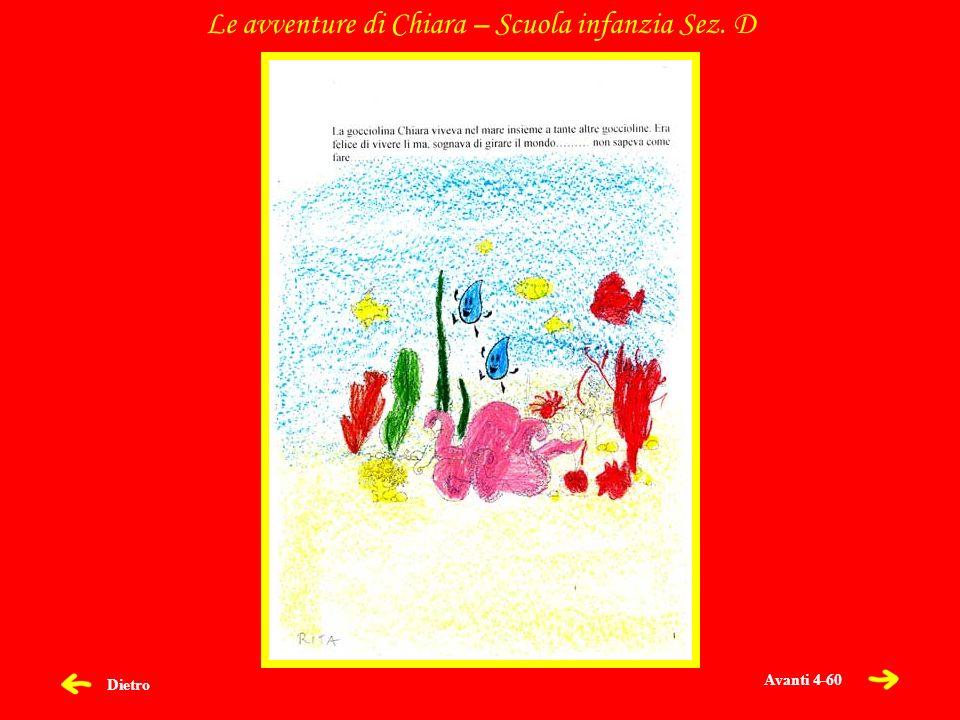 Dietro Le avventure di Chiara – Scuola infanzia Sez. D Avanti 4-60